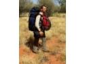 Desert. Alin Totorean a invins primii 135 de km de desert australian!