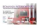 Va invitam la a treia editie a  ROMANIAINTERIOREXPO, 20 - 23 mai, Afi Palace Cotroceni!