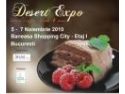Desert. DESERT EXPO - Sweets, Drinks & More, 5 – 7 noiembrie  2010, Baneasa Shopping City - etaj 1, Bucuresti.