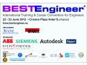 joburi pentru ingineri. BESTEngineer - Targ de joburi pentru ingineri, 22-23 iunie2012, Crowne Plaza Hotel Bucuresti