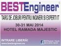 NU rata sansa de a-ti gasi un job! Viziteaza BESTEngineer, vineri si sambata, la Hotel Ramada Majestic Bucuresti!