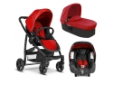 carucior 3 in. Graco Evo Trio