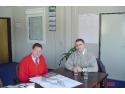 Primarul Mediaşului, Daniel Thellmann s-a întâlnit cu reprezentanţii firmei Peter Fink GmbH din Dachau, Germania.