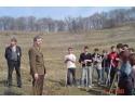 Primarul Daniel Thellmann a fost prezent la plantarea puieţilor de salcâm