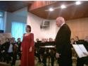 Soprana Laura Chera a cântat în Sala Mare a Primăriei Mediaş
