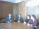 Delegaţie olandeză la Primăria Mediaş