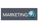 materiale marketing. Nu rata Marketing 360 !