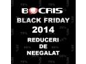 black friday 2014. BOCRIS continua tradiţia participand şi în 2014 la campania BLACK FRIDAY