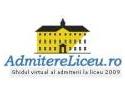 Cunoaste-ti viitori colegi de liceu pe www.admitereliceu.ro