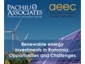 Pachiu şi Asociaţii reuneşte specialişti din Europa  la o conferinţă pe tema energiei regenerabile