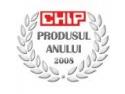 votat produsul anului 2019. Revista CHIP organizeaza CHIP Produsul Anului 2008 - editia a IX-a