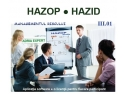 riscuri. Workshop HAZOP HAZID