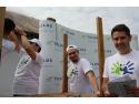 lagune de cultura generala. Peste 100 de voluntari TELUS International Europe au renovat  Scoala Generala din satul Plopsor, judetul Dolj