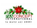 PAN CONCEPT INTERNATIONAL - 'Perfectionists in web design' si in noul an 2009