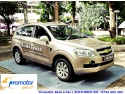 Chevrolet Captiva - masina perfecta pentru un contract de inchirieri auto pe termen lung de la Promotor Rent a Car Champions League