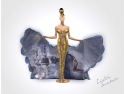 Tailor made. Costum de inspiratie nationala pentru Miss Universe 2012