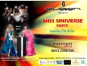 Miss Universe Romania. Invitatie Universe of Beauty