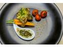 expozitie mancare vegana. Restaurant libanez Ganesha