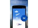 Acces rapid la cea mai variată ofertă de bilete de avion, prin aplicația eSKY.ro pentru dispozitive mobile