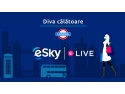 esky . eSky, prima agenție de turism din România care transmite live pe facebook de la London Fashion Weekend