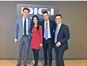 Tenorul Bogdan Mihai impreuna cu Anca Dumitrescu, Marius Pancu si Andrei Tomescu, prezentatorii Matinalului de la DIGI24HD
