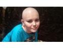 umanitara. Andrada Uskar a primit 3 000 de euro pentru tratamentul impotriva leucemiei