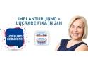 Oferta pret proteza dentara fixa pe implanturi Bucuresti
