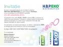 lansari produse. Invitatie HBP EKO la CarnExpo