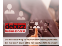 idee de business. Invitatie la DeBizz Businessbörse