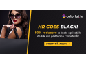 romanian. HR GOES BLACK