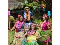 articole petrecere minnie. Petrecere hawaiana. Ghirlande hawaiene, fuste hula, petrecere Luau Party