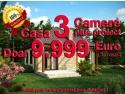 Doar 9.999 Euro pentru Casa cu 3 Camere - Cea mai ieftina casa din Romania este din Beton Armat si Caramida  Citeste mai mult: Comunicate de Presa