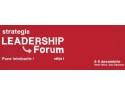 training leadership. Redefinim leadership-ul la Strategic Leadership Forum