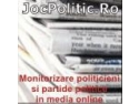 Monitorizare politicieni si partide politice in media online
