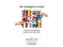 leaders for the future. Babylon Consult interpreteaza in limba engleza si in limbaj mimico-gestual in cadrul conferintei 'The Future of Social Change'