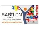 rechizite. In luna septembrie Babylon Consult premiaza colaboratorii cu un ghiozdan plin cu rechizite