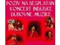 muzica clasica. Concert de muzica clasica indiana la Belgrad cu grupul bucurestean SAHAJ
