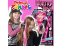 papusi fetite. Aparat de impletit parul Monster High