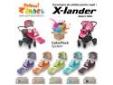 Carucioare copii de calitate X-lander cu Color Pack