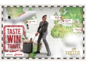 campanie sms. Taste, Win, Travel