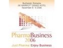 Sofia congress. PharmaBusiness Congress 2006, Noiembrie 8-9 , JW Mariott Grand Hotel, Bucuresti