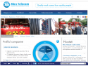adaptare website. Website MIRA TELECOM