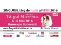 targul martisorului. Targul Ghidul Miresei, 6-8 mai 2016, Romexpo Bucuresti: Nunta perfecta organizata intr-o zi!
