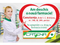 Catena a deschis o noua farmacie in Constanta usa de garaj