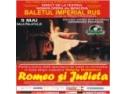 "BALETUL IMPERIAL RUS danseaza in  celebra piesa shakespeariana   ""Romeo si Julieta"" la Sala Palatului"