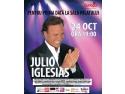 julio iglesias. CONCERT JULIO IGLESIAS, 24 OCTOMBRIE 2013, SALA PALATULUI, VREAUBILET.RO