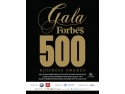 Expoziţie Internaţională pentru Tehnologii şi Echipamente de Protecţie a Mediului. Elita mediului de afaceri românesc, premiată la Gala Forbes 500 Business Awards