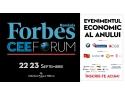 FORBES CEE Forum 2015, 22 – 23 septembrie 2015, Athenee Palace Hilton, București