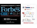 forbes growth summit. FORBES CEE Forum 2015: 25 de strategii de creștere sustenabilă