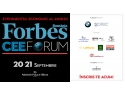 eco forum.  FORBES CEE FORUM 2016  Leadership în vremuri tulburi